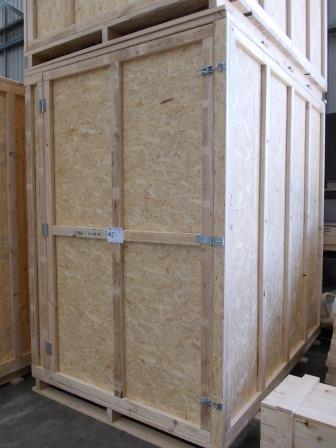 Large furniture removals piano movers ireland sligo for Re storage crate