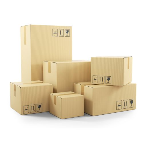 Medium Double Wall Cardboard Moving Box