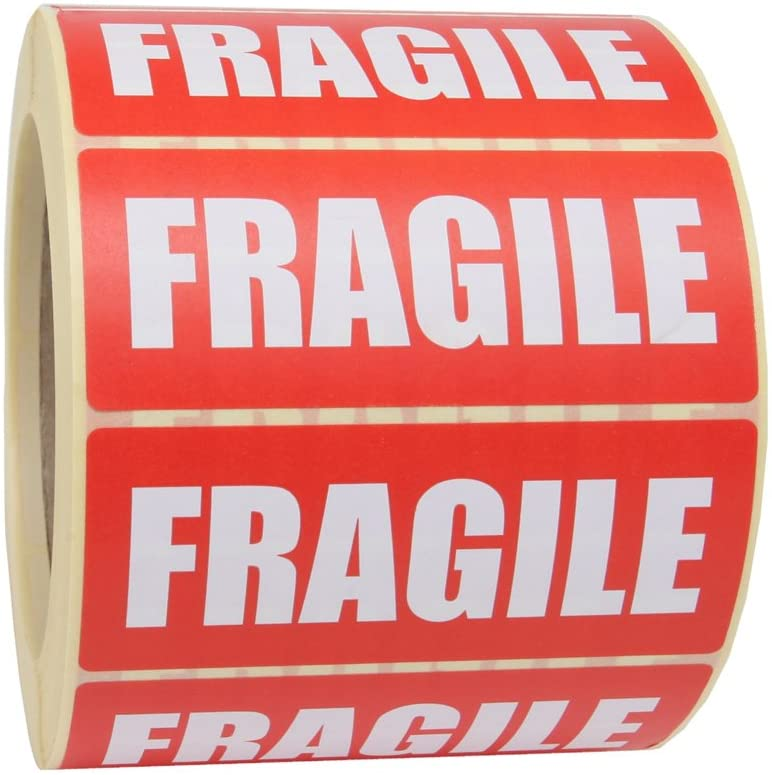 50 fragile stickers