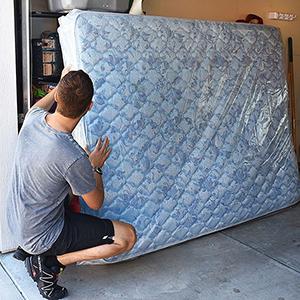 plastic mattress protector