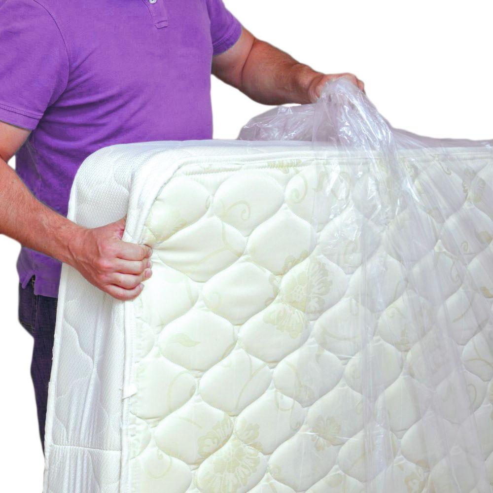 plastic mattress cover
