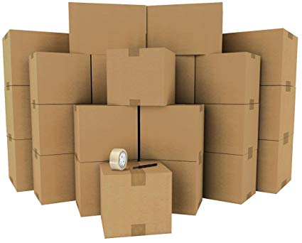 The ultimate moving box kit