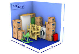70 sq ft container space