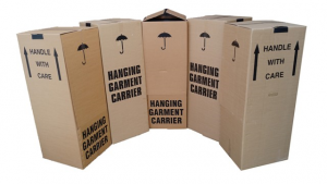 Wardrobe box kit