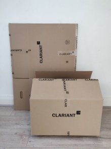 used cardboard boxes