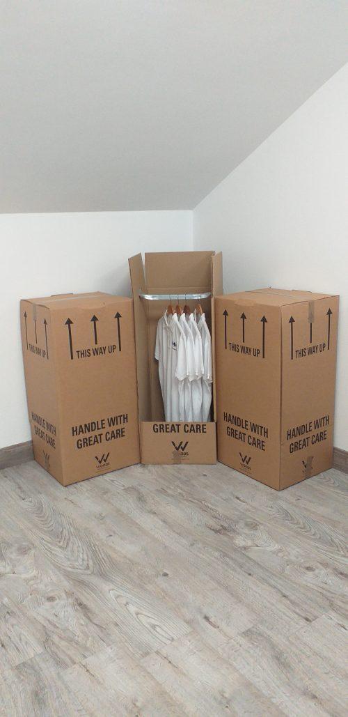 wardrobe moving boxes