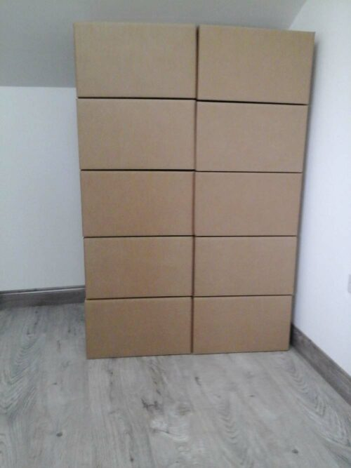 10 large double walled boxes